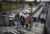YAYA TRAFİĞİ - İstanbul'da toplu taşımada yine yoğunluk!