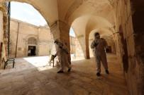 Mardin'de İbadete Açılacak Camiler Dezenfekte Edildi