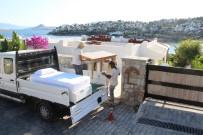 BODRUM BELEDİYESİ - Yılmaz Özdil kaçak villasındaki eşyaları boşalttı!