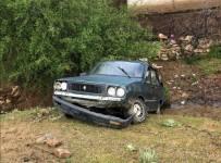 Manisa'da Otomobil Şarampole Yuvarlandı Açıklaması 1 Yaralı