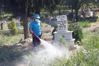 Sarıgöl'ün Mezarlıklarında Hummalı Çalışma