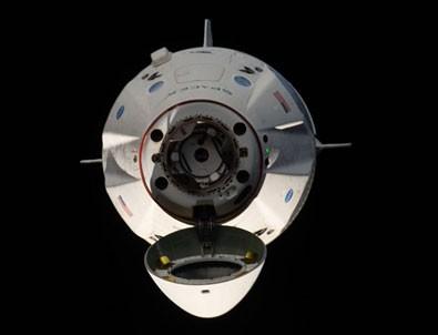 Uzayda tarihi anlar! Böyle kenetlendi!
