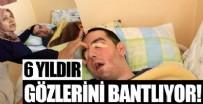 HALK OYUNLARI - Anne Gülsüm Özçelik, yatalak oğlu Halil Özçelik'in gözlerini 6 yıldır yara bandıyla kapatıyor