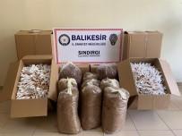 Kargoyla Gönderilen 55 Kilo Tütün Ele Geçirildi