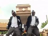 CENAZE - İnternet fenomeni Ganalı cenaze dansçıları: 'Corona' nedeniyle işlerimiz azaldı