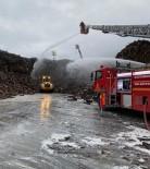 Kastamonu'da Entegre Fabrikasında Çıkan Yangın Kontrol Altına Alındı