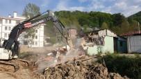 Kaynaşlı'da Merkez Camiye Yeni Şadırvan Yapılıyor