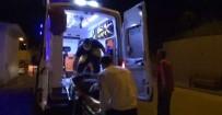 Otomobil Sulama Kanalına Devrildi Açıklaması 2 Yaralı