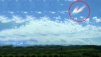 KAYABAŞı - Yer: Osmaniye! Gökyüzünde şaşırtan görüntü
