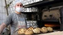 SOSYAL SORUMLULUK - Vanlı fırıncı 'Covid-19' şeklinde ekmek pişirdi