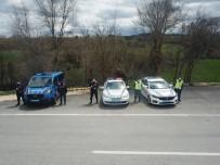 Jandarma Ekiplerinden Drone İle Yol Kontrolü