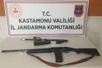 Ağaç Kesme Motoru İle Av Tüfeği Çalan Şahıs Yakalandı
