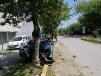 Alaçam'da Trafik Kazası Açıklaması 1 Yaralı