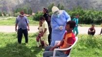 Eskişehir'de Tarım İşçilerinin Çadır Alanı Karantina Altına Alındı