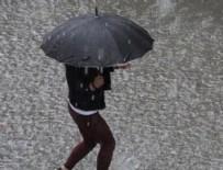 DOLU YAĞIŞI - Meteorolojiden 20 il için uyarı!