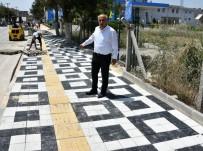 Yenişehir'de Kaldırımlar Yenileniyor