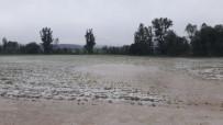 Kastamonu'da Sağanak Ve Dolu Yağışı Etkili Oldu