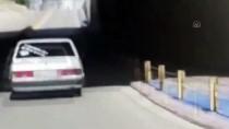 Konya'da 'Drift' Anı Polis Kamerasınca Kaydedilen Sürücüye 7 Bin 354 Lira Ceza