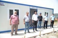 Selendi'de İki Mahalleye Prefabrik Sağlık Evi