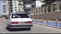 Drift Yapıp Polisten Kaçtı, 7 Bin 534 Lira Ceza Yedi