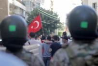 CANLI YAYIN - Lübnan'da Ermeni asıllı sunucunun Türkiye'ye hakaret ettiği televizyon kanalı protesto edildi