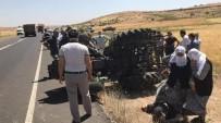 Mardin'de Traktör Yan Yattı Açıklaması 5 Yaralı