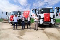 Yenişehir Belediyesine Hibe Edilen Çöp Kamyonlari Hizmete Başladi