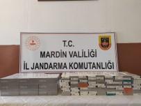 Mardin'de Jandarma 40 Bin TL Değerinde Kaçak Sigara Ele Geçirdi