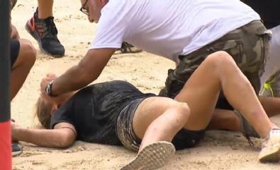 Survivor Nisa 3 metreden düştü, Elif hastanelik oldu!