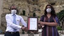 Ürgüp'te 'Güvenli Turizm Sertifikası' Alan Otelde Tören Düzenledi