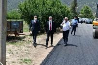 Isparta'da Köy Yolları Sıcak Asfalta Kavuşuyor