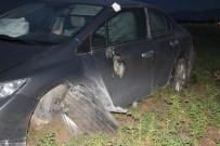 Kırşehir-Ankara Yolunda Kaza Açıklaması 1 Yaralı