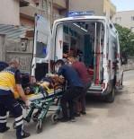 Mardin'de Akıma Kapılan 2 İnşaat İşçisi Yaralandı