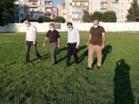 Susurluk Şehir Stadı Ve Gençlik Merkezi Yerinde Denetlendi