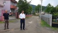Başkan Şahin Çalışma Yapılacak Sokaklar İnceledi