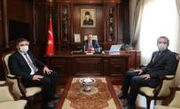 Bursa Valisi Canbolat'a Başkan Tanır'dan Ziyaret