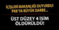 AFŞAR - PKK'ya büyük darbe! 2'si turuncu, 2'si gri listede...