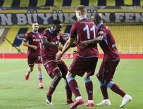 ZIRAAT TÜRKIYE KUPASı - Trabzonspor, Türkiye Kupası'nda ilk finalist oldu