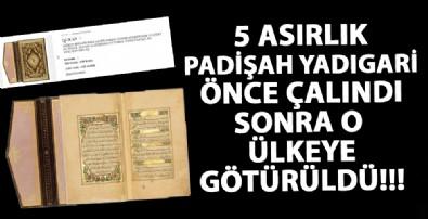 5 asırlık Kuran-ı Kerim İngiltere'de ortaya çıktı!