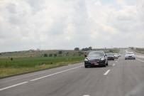 Kırklareli-Saray Duble Yol Yapımı Sürüyor