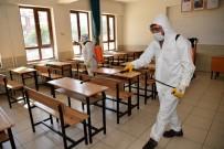Selçuklu'da LGS Öncesi Okullar Dezenfekte Ediliyor