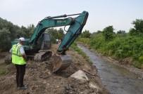 Erdek'te Şelale Deresi Taşkınlara Karşı Islah Ediliyor