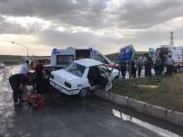 Kayseri'de Trafik Kazası Açıklaması 8 Yaralı