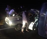 Mardin'de Tır Otomobile Çarptı Açıklaması 5 Yaralı
