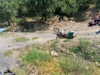 Tır Motosikletle Çarpıştı Açıklaması 1 Ölü