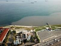 ARITMA TESİSİ - Bir İSKİ rezaleti daha! Pislik akıttı denizin rengi böyle değiştirdi