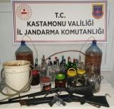 Kastamonu'da 55 Litre Sahte İçki Ele Geçirildi
