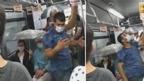 MECLİS ÜYESİ - İBB ne iş yapıyor? Metrobüste skandal görüntü