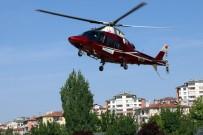 Kolunu Spirale Kaptıran Şahıs Helikopter Ambulans İle Kayseri'ye Getirildi