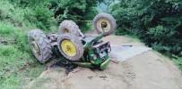 Samsun'un Traktör Kazası Açıklaması 1 Ölü, 2 Yaralı